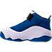 Left view of Boys' Toddler Jordan 6 Rings Basketball Shoes in Team Royal/Black/White