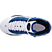 Top view of Boys' Preschool Jordan 6 Rings Basketball Shoes in Team Royal/Black/White