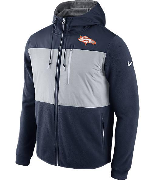 Men's Nike Denver Broncos NFL Championship Drive Full-Zip Jacket