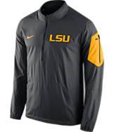 Men's Nike LSU Tigers College Lockdown Half-Zip Jacket