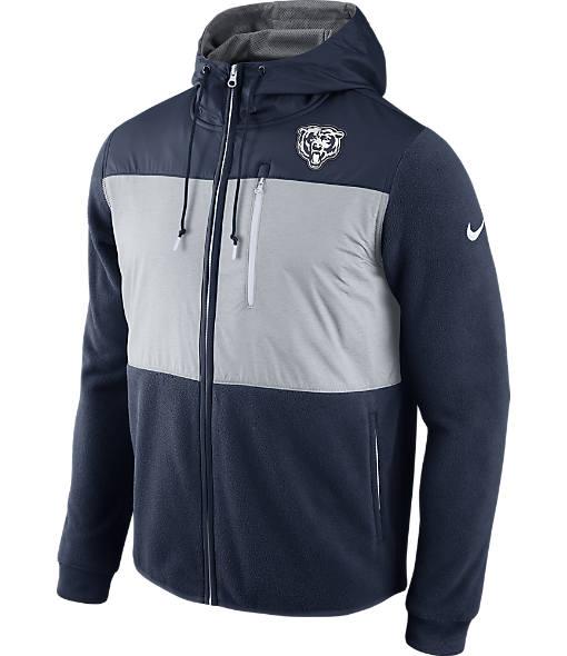 Men's Nike Chicago Bears NFL Championship Drive Full-Zip Jacket