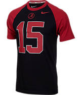 Men's Nike Alabama Crimson Tide College New Day Name and Number T-Shirt