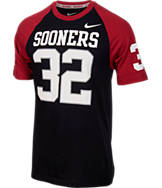 Men's Nike Oklahoma Sooners College New Day Name and Number T-Shirt