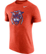 Men's Nike Clemson Tigers College Tri-Blend Logo Plus T-Shirt