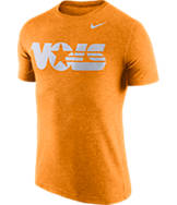 Men's Nike Tennessee Volunteers College Tri-Blend Logo Plus T-Shirt