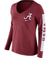 Women's Nike Alabama Crimson Tide College Tri-Blend Modern T-Shirt