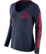 Women's Nike Arizona Wildcats College Tri-Blend Modern T-Shirt
