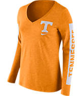 Women's Nike Tennessee Volunteers College Tri-Blend Modern T-Shirt