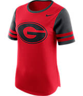 Women's Nike Georgia Bulldogs College Modern Fan T-Shirt