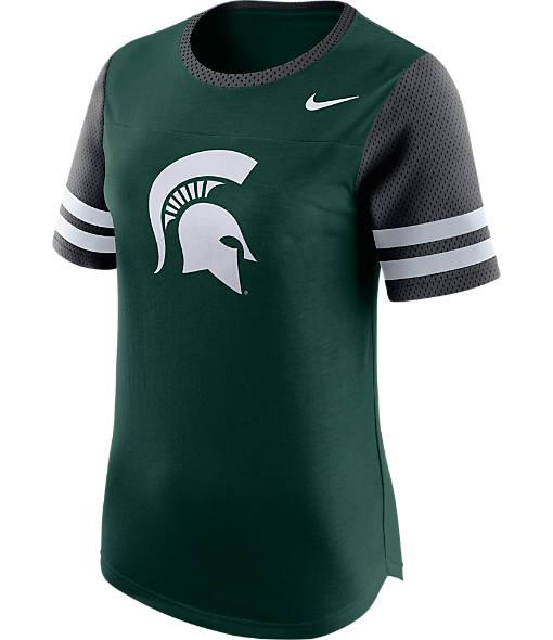 Women's Nike Michigan State Spartans College Modern Fan T-Shirt