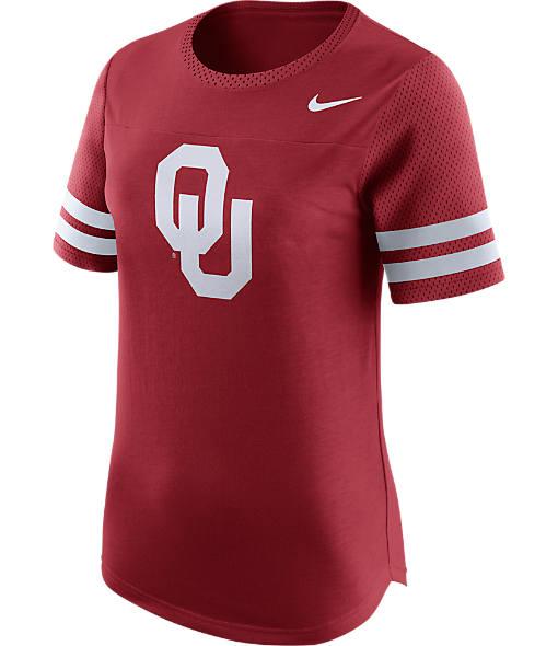 Women's Nike Oklahoma Sooners College Modern Fan T-Shirt