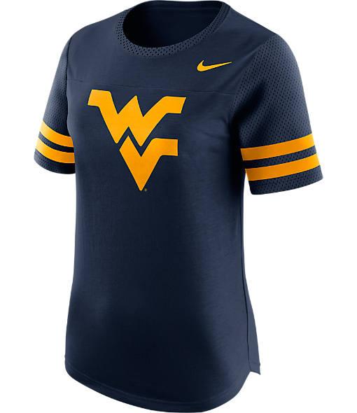Women's Nike West Virginia Mountaineers College Modern Fan T-Shirt