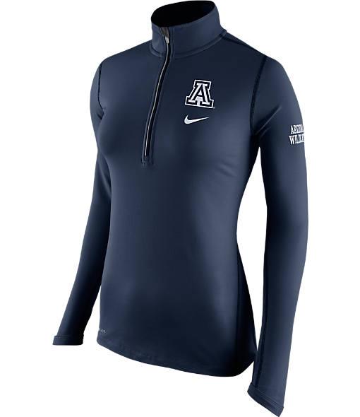Women's Nike Arizona Wildcats College Tailgate Half-Zip Jacket