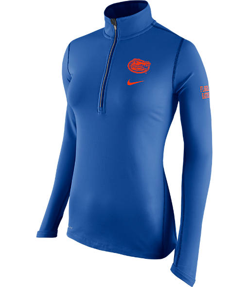 Women's Nike Florida Gators College Half-Zip Jacket