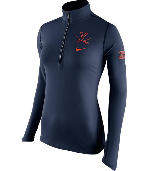 Women's Nike Illinois Fighting Illini College Tailgate Half-Zip Jacket