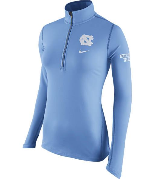 Women's Nike North Carolina Tar Heels College Tailgate Half-Zip Jacket