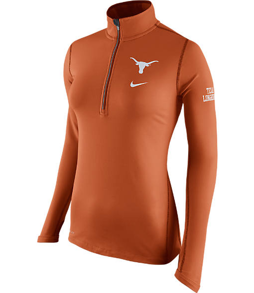 Women's Nike Texas Longhorns College Tailgate Half-Zip Jacket