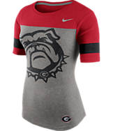 Women's Nike Georgia Bulldogs College Championship Drive Fan Shirt