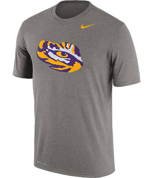 Men's Nike LSU Tigers College Legend Football Logo T-Shirt