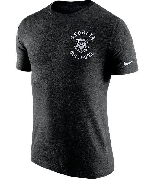 Men's Nike Georgia Bulldogs College Helmet T-Shirt