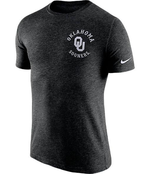 Men's Nike Oklahoma Sooners College Helmet T-Shirt