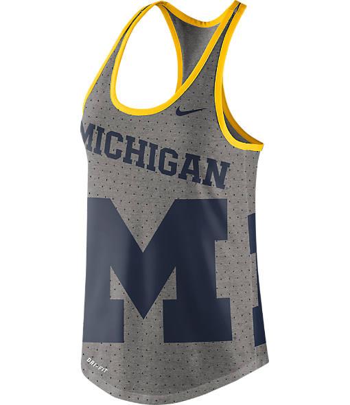 Women's Nike Michigan Wolverines College Gear Up Tank