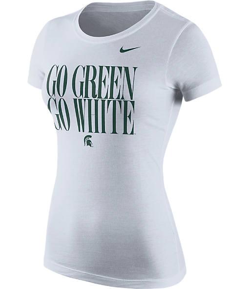 Women's Nike Michigan State Spartans College Spirit T-Shirt