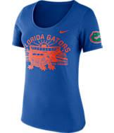 Women's Nike Florida Gators College Campus Scoop T-Shirt