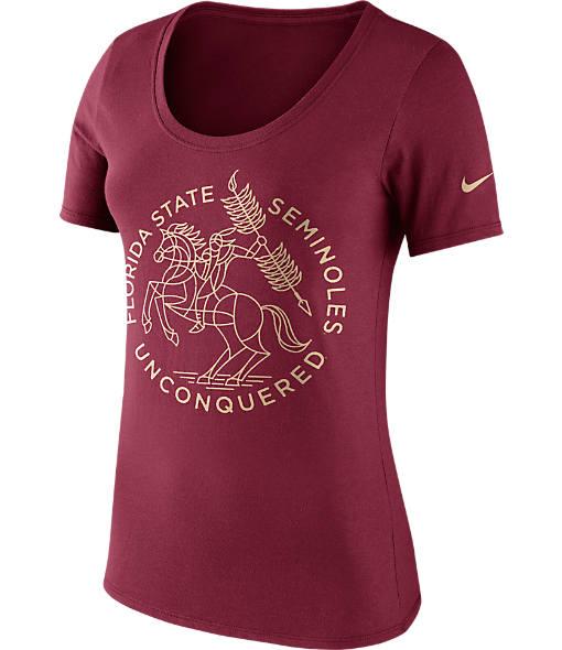 Women's Nike Florida State Seminoles College Campus Scoop T-Shirt