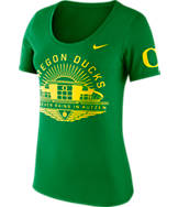 Women's Nike Oregon Ducks College Campus Scoop T-Shirt