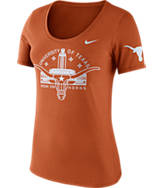 Women's Nike Texas Longhorns College Campus Scoop T-Shirt