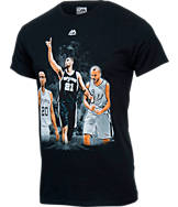 Men's Majestic San Antonio Spurs NBA Amazing Happened T-Shirt