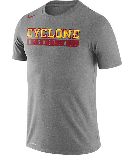 Men's Nike Iowa State Cyclones College Basketball Practice T-Shirt