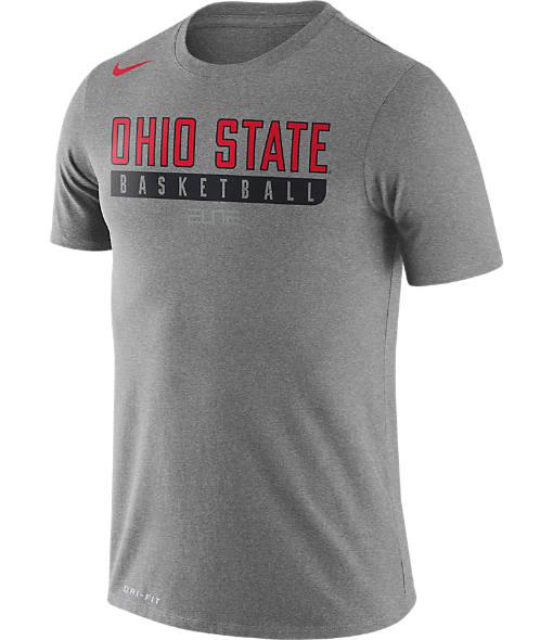 Men's Nike Ohio State Buckeyes College Basketball Practice T-Shirt