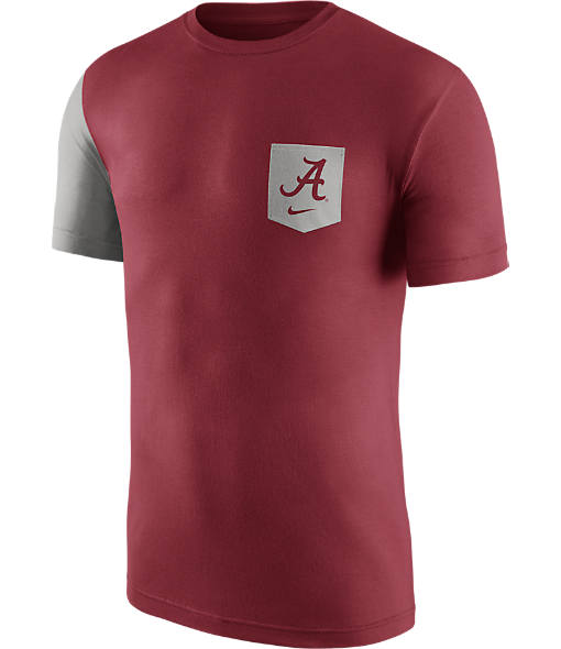 Men's Nike Alabama Crimson Tide College Player Pocket T-Shirt