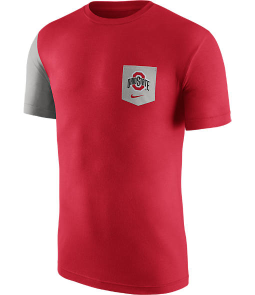 Men's Nike Ohio State Buckeyes College Player Pocket T-Shirt