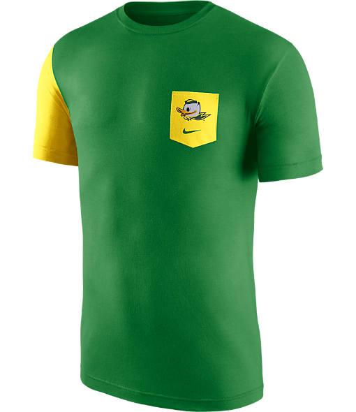 Men's Nike Oregon Ducks College Player Pocket T-Shirt