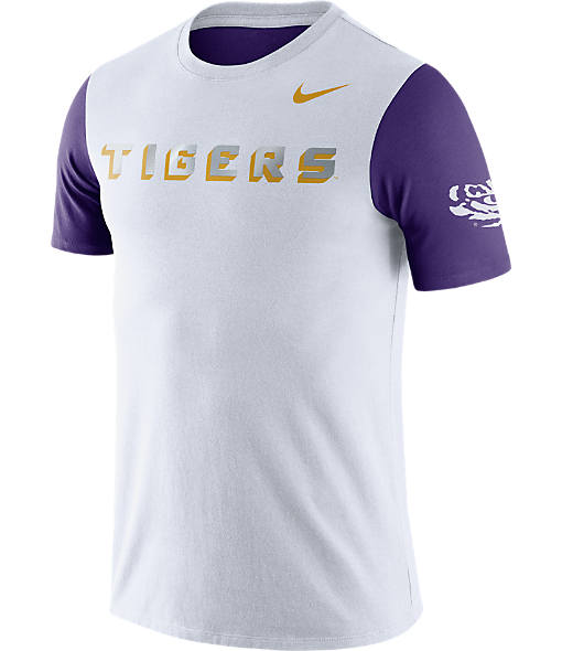 Men's Nike LSU Tigers College Flash Bomb T-Shirt
