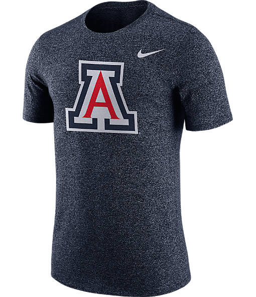 Men's Nike Arizona Wildcats College Marled Logo T-Shirt