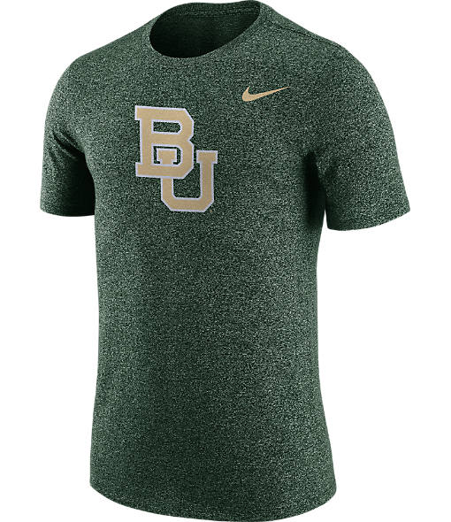 Men's Nike Baylor Bears College Marled Logo T-Shirt