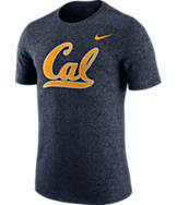 Men's Nike Cal Golden Bears College Marled Logo T-Shirt