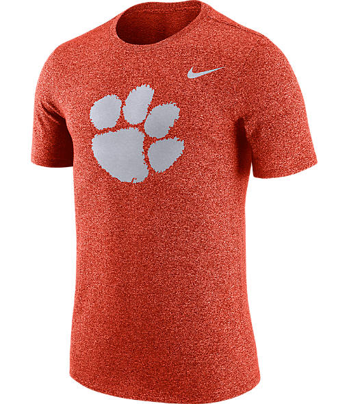 Men's Nike Clemson Tigers College Marled Logo T-Shirt