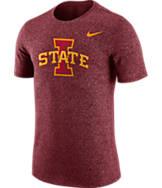 Men's Nike Iowa State Cyclones College Marled Logo T-Shirt