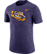 Men's Nike LSU Tigers College Marled Logo T-Shirt