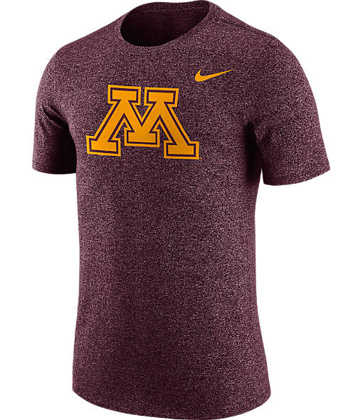 Men's Nike Minnesota Golden Gophers College Marled Logo T-Shirt