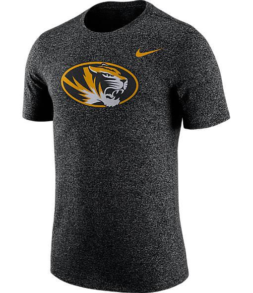 Men's Nike Missouri Tigers College Marled Logo T-Shirt