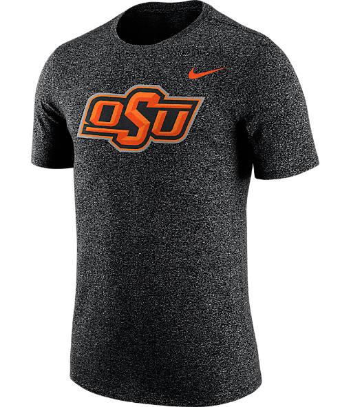Men's Nike Oklahoma State Cowboys College Marled Logo T-Shirt