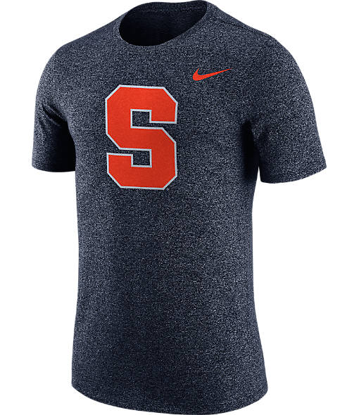 Men's Nike Syracuse Orange College Marled Logo T-Shirt