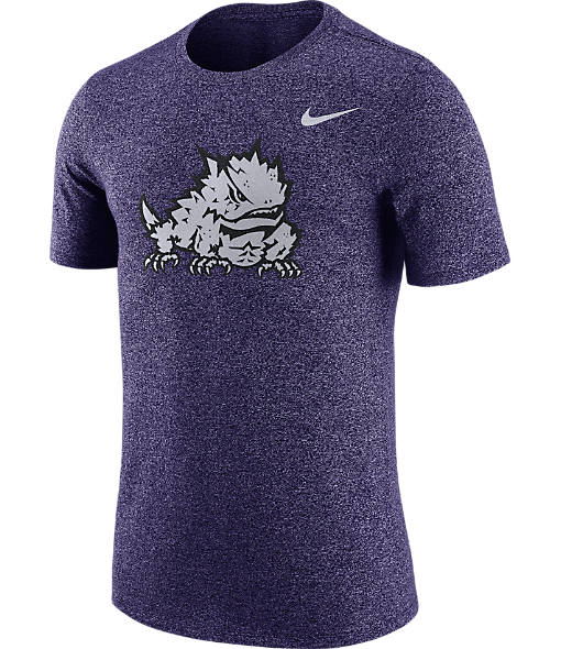 Men's Nike TCU Horned Frogs College Marled Logo T-Shirt