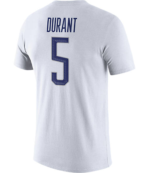 Men's Nike USA Basketball 2016 Kevin Durant Name and Number T-Shirt